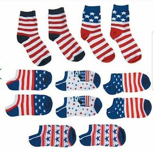 Accessories - Assorted patriotic socks